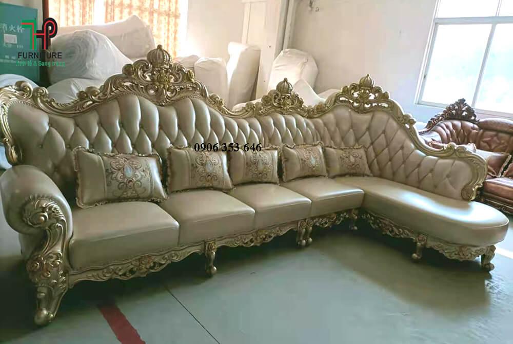 Sofa góc cổ điển