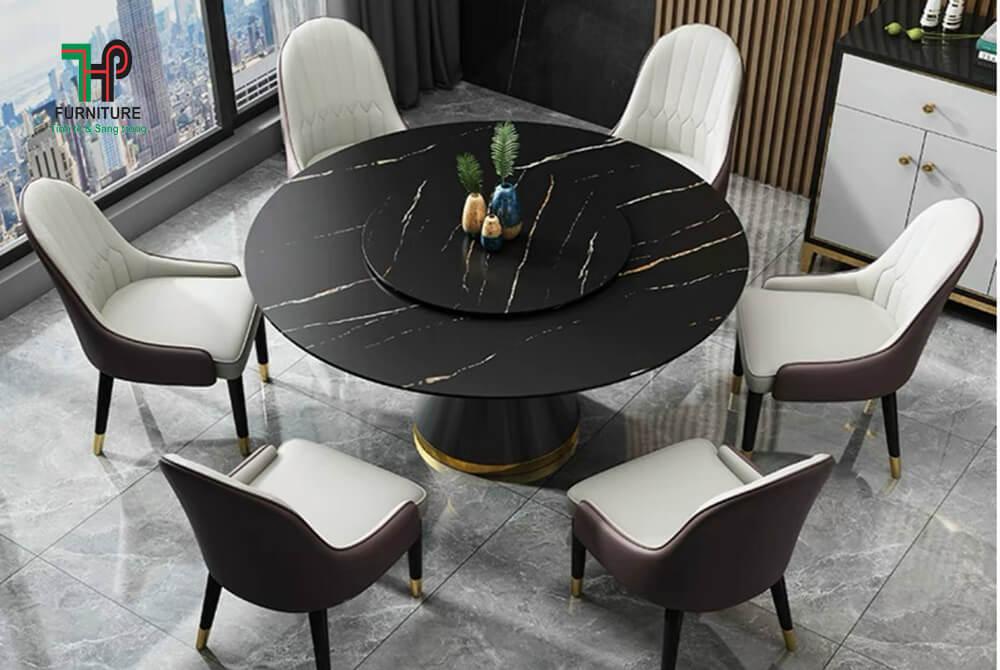 bàn ăn tròn nhập khẩu