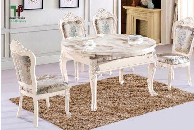 bàn ghế ăn tân cổ điển (2)