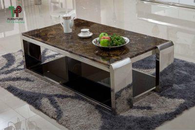 bàn trà phòng khách hiện đại