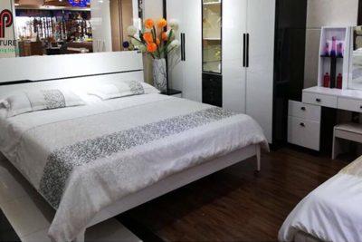 giường da nhập khẩu