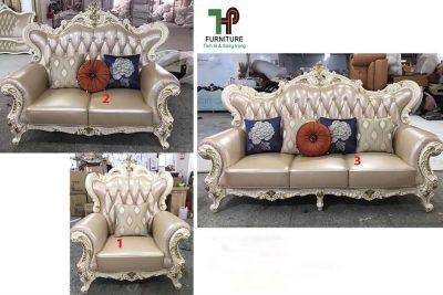 Ghế sofa đơn cổ điển cao cấp