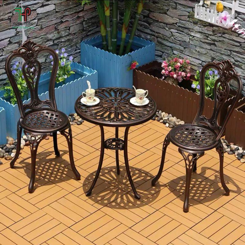 bàn ghế nhôm đúc ngoài trời (4)