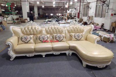 sofa da cổ điển đẹp