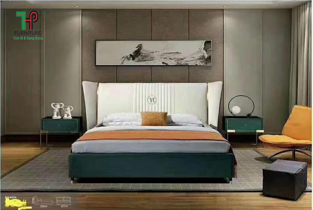 Giường ngủ nhập khẩu đẹp