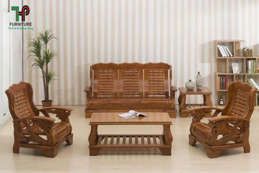 sofa gỗ cao cấp đẹp
