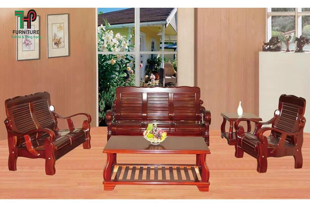 sofa gỗ nhập khẩu