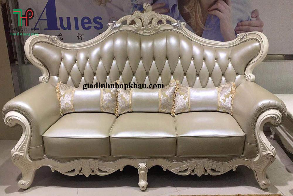 Bộ sofa ghế đơn cổ điển