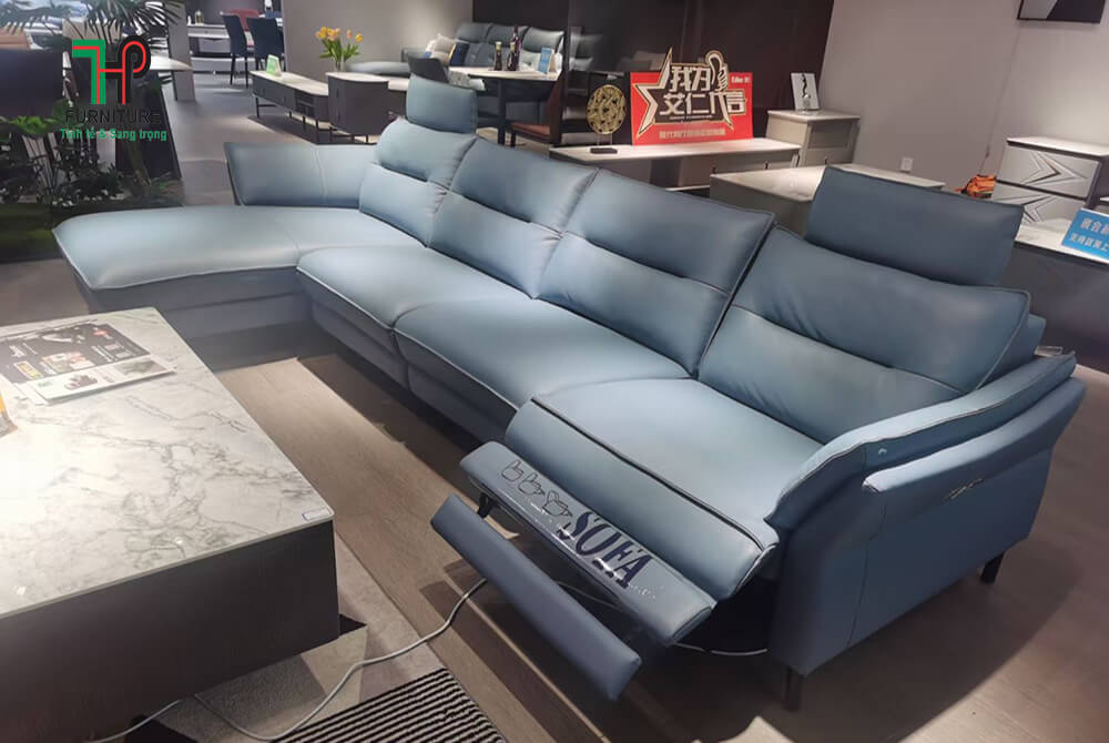 bộ sofa da thật nhập khẩu